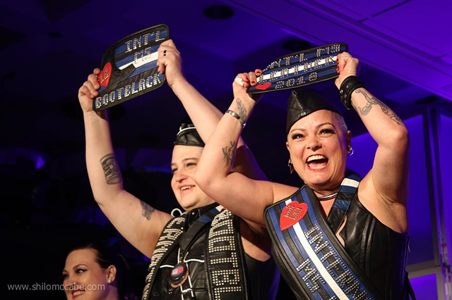International Ms. Leather and International Ms. Bootblack competition, San Jose, 2018
