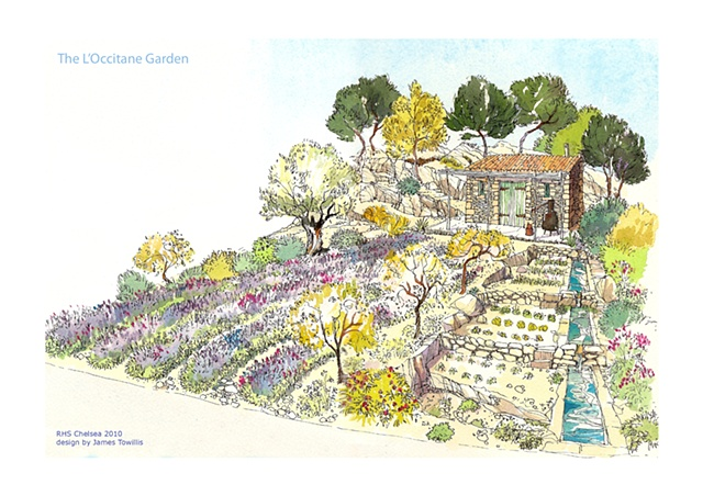 The L'Occitane Garden - Chelsea Flower Show - James Towillis