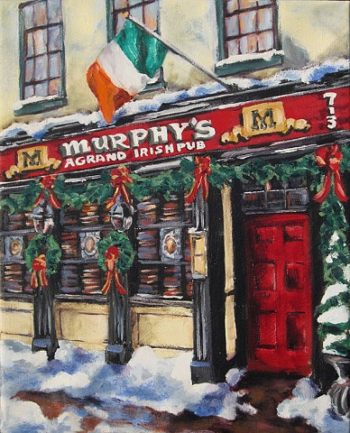 Murphy's Irish Pub on King Street in Old Town Alexandria, VA