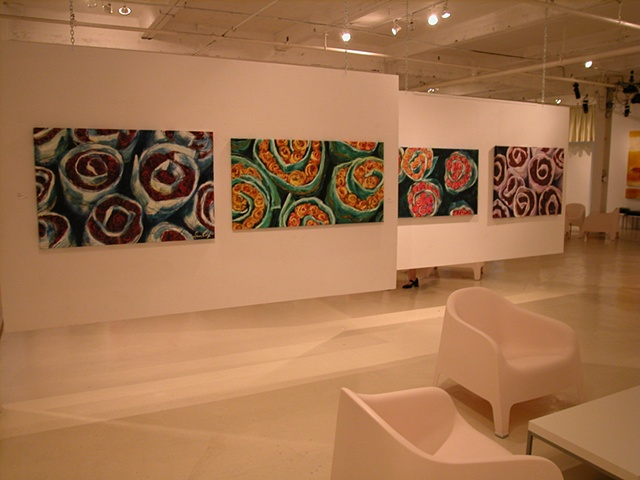 Market paintings at Gallery Gora 2005