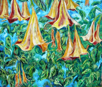 angel trumpet dance