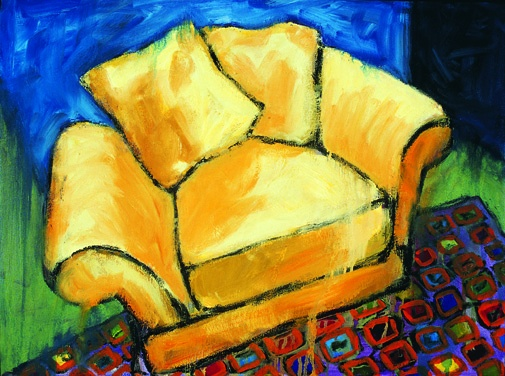 YELLOW CHAIR PAINTINGS