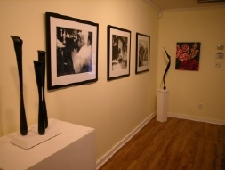Photos and sculptures in group exhibit