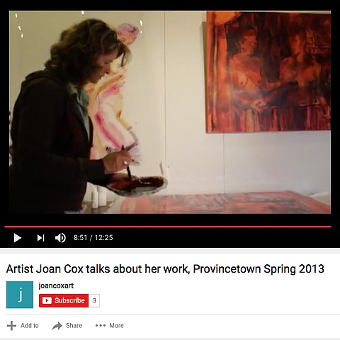 Video Interview in Provincetown Studio