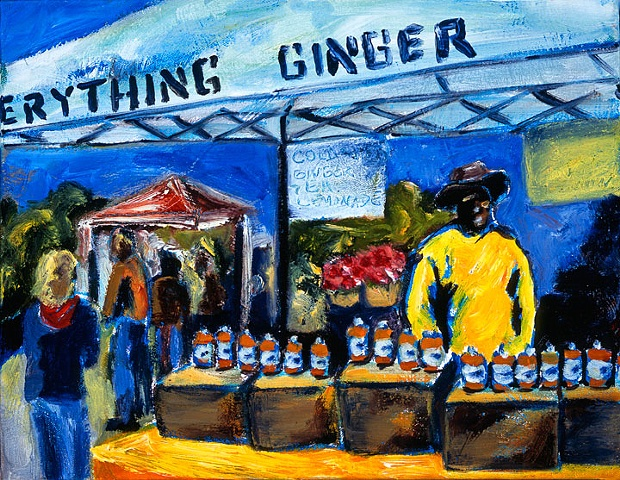 Ginger Man at the Waverly Market - Baltimore