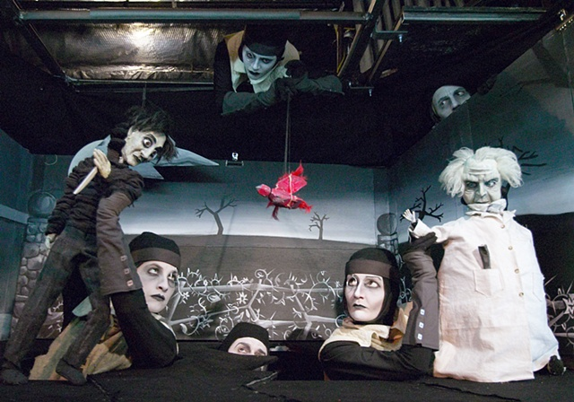 Cabinet of Dr. Caligari costumes
