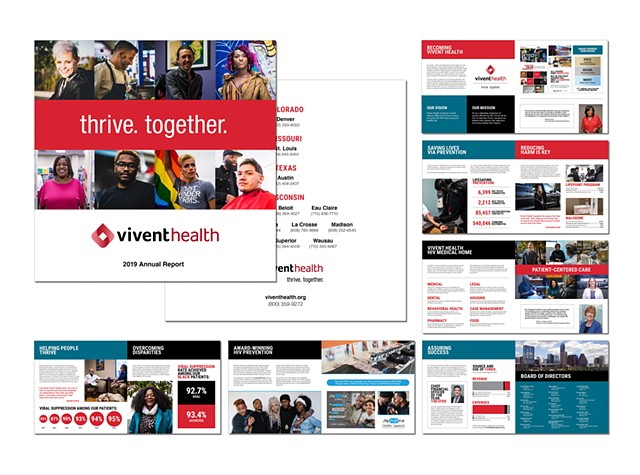 Vivent Health  thrive. together. 2019 Annual Report  October 2020
