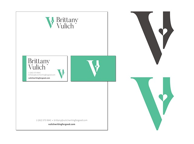 Brittany Vulich  Identity, Letterhead and Business Cards  May 2019