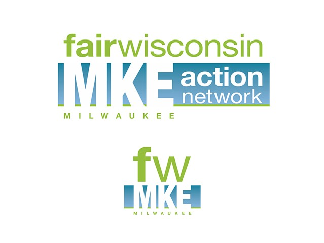 Fair Wisconsin  Milwaukee (MKE) Action Network (Full logo and icon)  November 2009