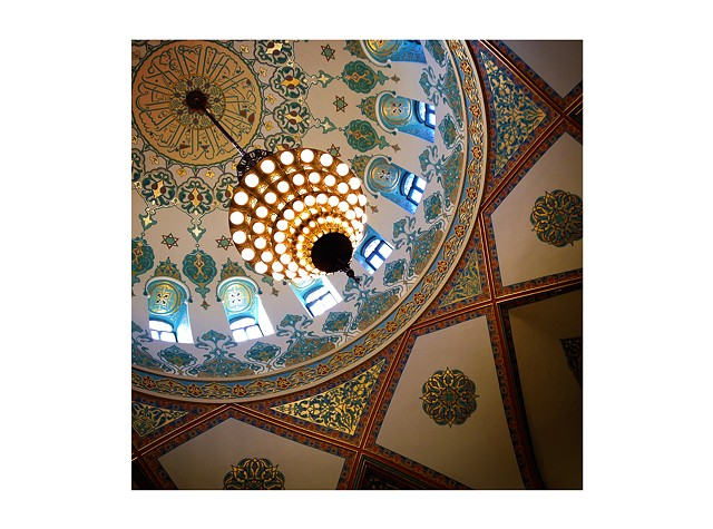 Under the Grand Foyer Dome, Tripoli Shrine Center, Milwaukee, WI