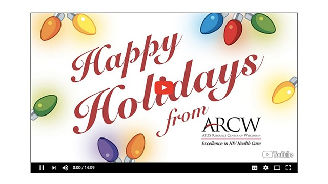 Happy Holidays from ARCW - 2016  December 2016