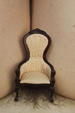 photography body miniatures toys chair pubic hair