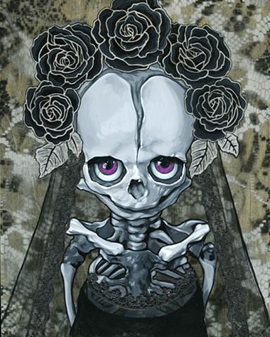 Baby muerte in black