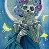 Santa Muerte of the Moon