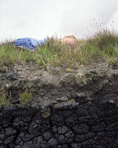 Peat Bog; Achill Island, Co. Mayo, Ireland
