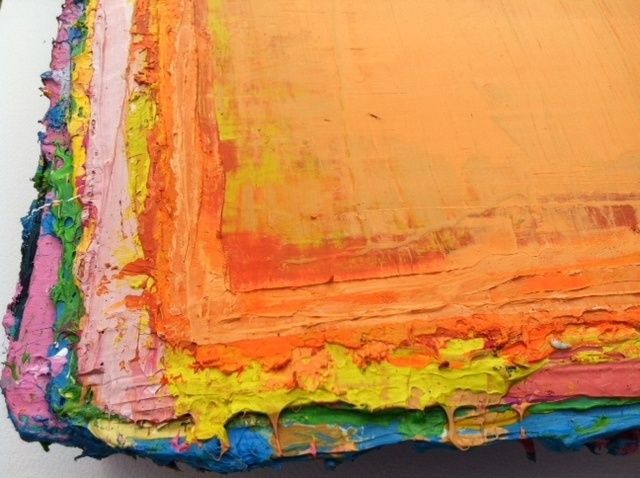 "Close Up of Fat Series No.19 ""Dayglo"""