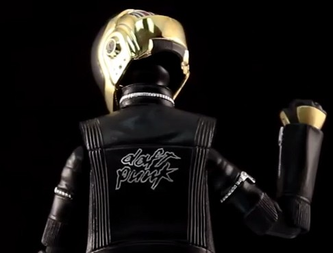 Tamashii Nation Daft Punk Figures