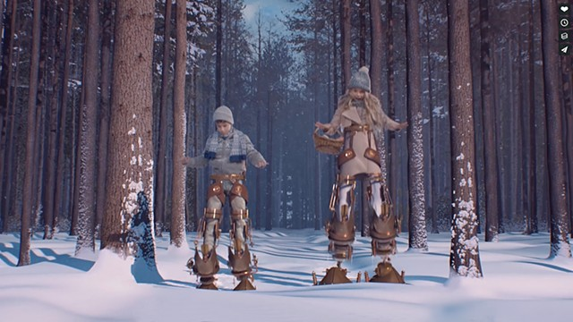 snow forest mattepaint copyright rotorstudios and toyota