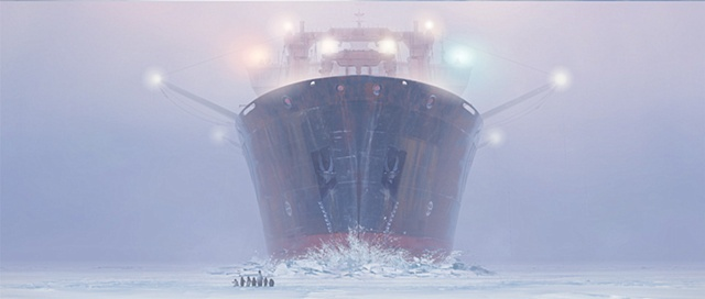 happy feet prepublicity image icebreaker