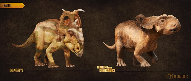 Pachi: Walking with dinosaurs 3d movie