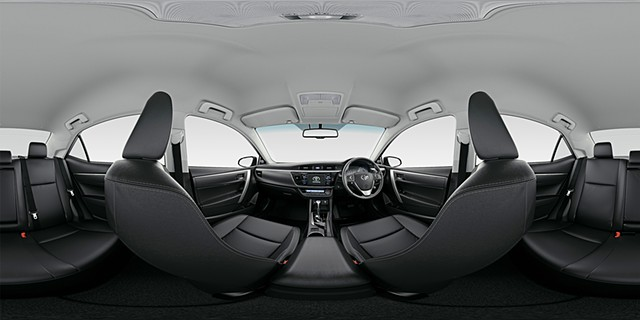 corolla qtvr copyright Toyota, rotor,vvta,