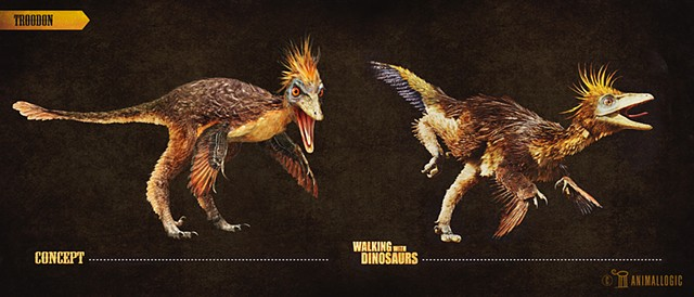 troodon:  Walking with dinosaurs 3d movie