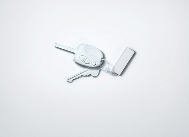 keywhiterender 3d model
