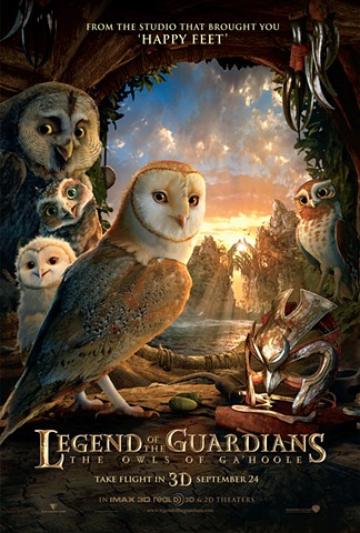 legends of guardians poster