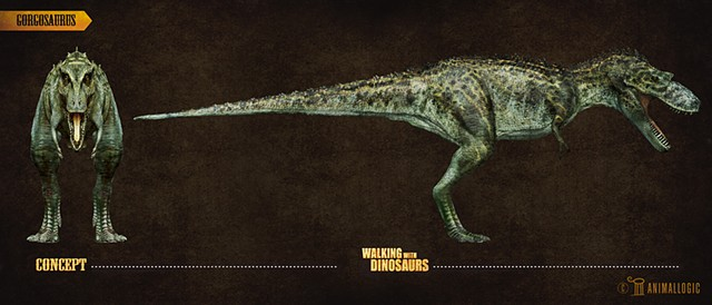 gorgosaurus:  Walking with dinosaurs 3d movie