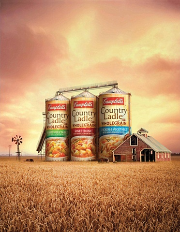 campbells barnsilo 3d model and texture