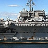 uss kittyhawk naval dock sydney aus