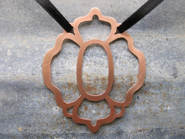 Copper Pendant  Jewelry Necklaces