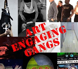 Art Engaging Gangs Group Show Book at AC Institute Exhibition Catalog