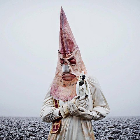 Mask shot by Artist Photographer Mothmeister. In the Self titled book.