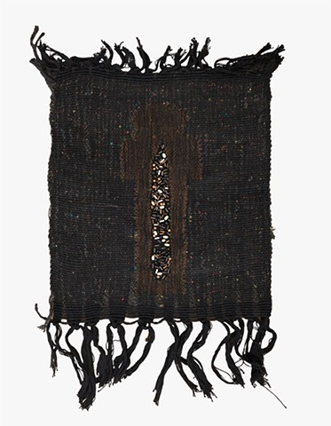 Juanita Shadowwork Mummy Weaving Beaded Tapestry