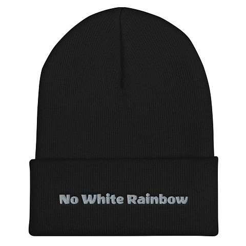 Available at the shop now.  Click Link on right to visit NO WHITE RAINBOW