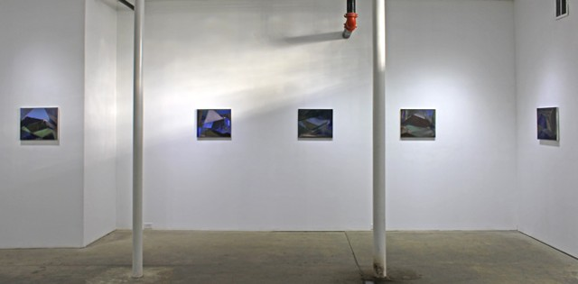 "Installation view of ""By Way of Bangkok"" at Boston's HallSpace"