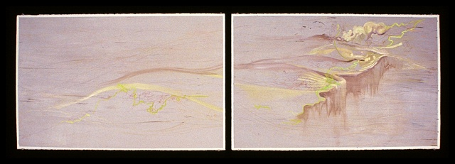Evolutions No. 20 (Diptych)