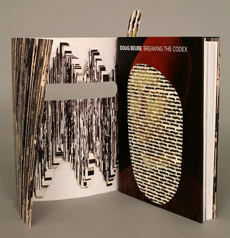 artwork, monograph, bookwork, bookworks, altered book, sculpture, artist's book, unique, one of a kind