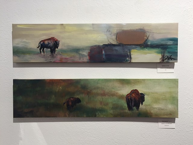 Abstract Buffalo