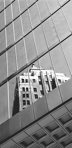 City Series:  ' Marine Building Reflection '