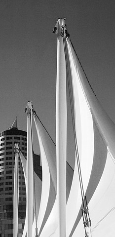 City Series:  ' Sails at Canada Place '