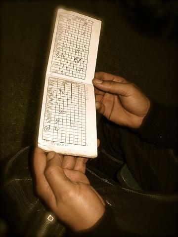 """""""Libretta""""-Cuban Ration Book"""