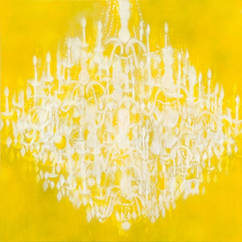 Chandelier Yellow
