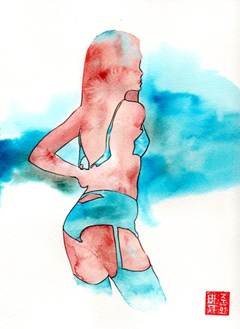 Watercolor experiment #2