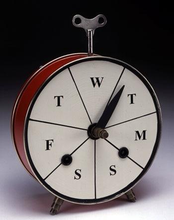 """""""Weekly Clock"""" (type #1)"""