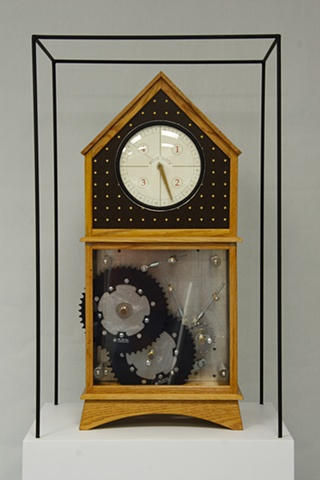 Block Clock (front view)
