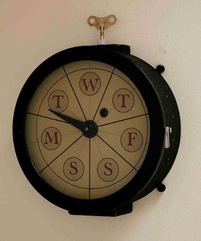 """""""Weekly Clock"""" (type #2)"""