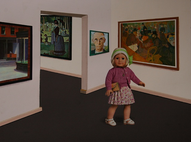 """""""Kay visits the Art Institute of Chicago"""""""