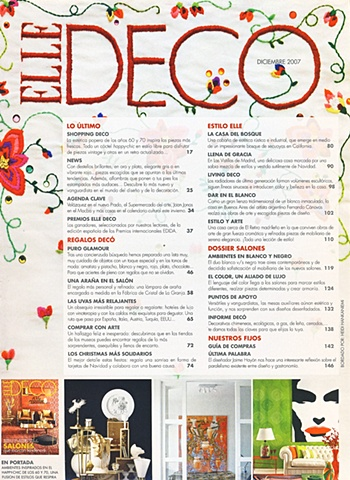 embroidery, Elle Deco